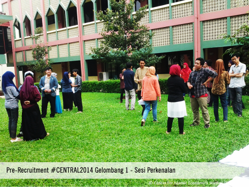 Sesi Perkenalan C.O.I.N.S Pre-Recruitment #CENTRAL2014
