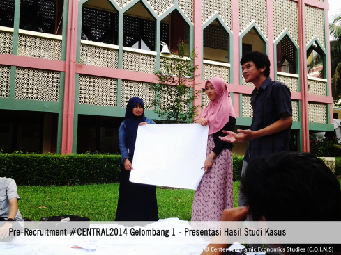Peserta Presentasi C.O.I.N.S Pre-Recruitment #CENTRAL2014