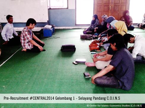 Selayang Pandang C.O.I.N.S Pre-Recruitment #CENTRAL2014