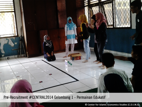 Permainan Edukatif C.O.I.N.S Pre-Recruitment #CENTRAL2014